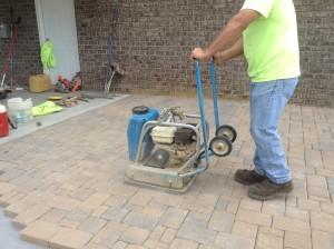 tamping pavers